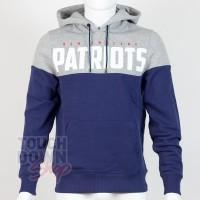 Sweat à capuche New England Patriots NFL Cutsew - Touchdown Shop