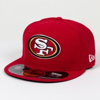Casquette New Era 59FIFTY Fitted authentic on field NFL San Francisco 49ers - Touchdown shop