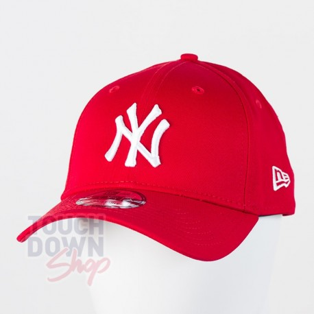 Casquette NY New York Yankees MLB league basic 9FORTY New Era Rouge