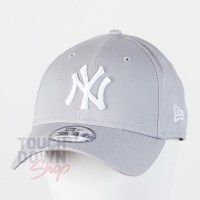 Casquette NY New York Yankees MLB league basic 9FORTY New Era Gris