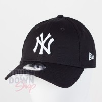 Casquette NY New York Yankees MLB league basic 9FORTY New Era Noire