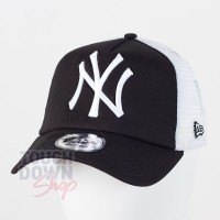 Casquette NY New York Yankees MLB clean trucker 9FORTY New Era Noire