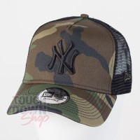 Casquette NY New York Yankees MLB clean trucker 9FORTY New Era Military