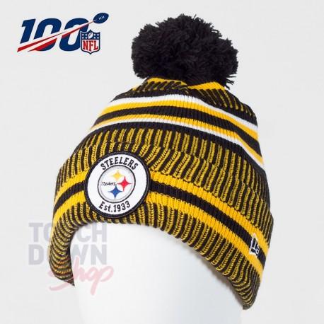 Bonnet Pittsburgh Steelers NFL On Field 2019 sport HM New Era - Touchdown Shop