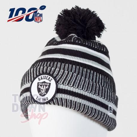 Bonnet Oakland Raiders NFL On Field 2019 sport HM New Era - Touchdown Shop
