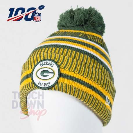 Bonnet Green Bay Packers NFL On Field 2019 sport HM New Era - Touchdown Shop