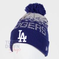 Bonnet Los Angeles Dodgers MLB sport knit cuff New Era