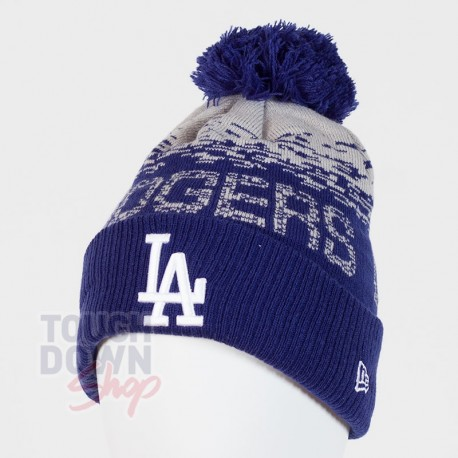 Bonnet Los Angeles Dodgers MLB sport knit cuff New Era - Touchdown Shop