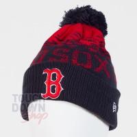 Bonnet Boston Red Sox MLB sport knit cuff New Era