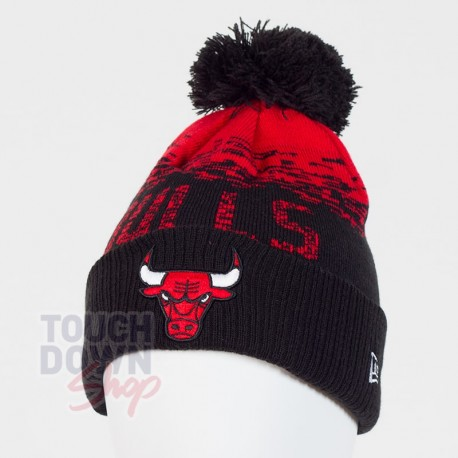 Bonnet Chicago Bulls NBA sport knit cuff New Era - Touchdown Shop