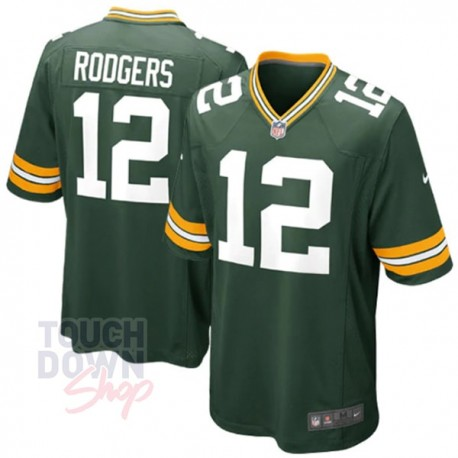 Maillot NFL Green Bay Packers Aaron Rodgers Nike - Touchdown Shop