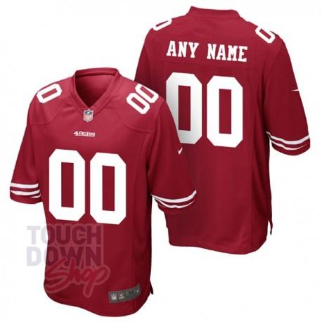 Maillot NFL San Francisco Nike à personnaliser - Touchdown Shop