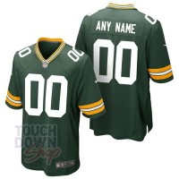 Maillot NFL Green Bay Packers Nike à personnaliser