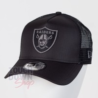 Casquette Oakland Raiders NFL tonal black AF 9FORTY Trucker New Era