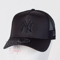 Casquette NY New York Yankees MLB tonal black AF 9FORTY Trucker New Era