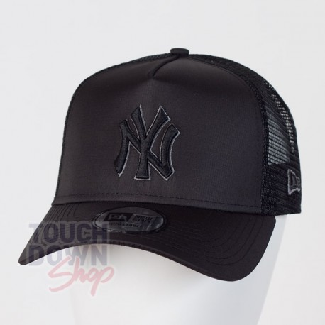 Casquette NY New York Yankees MLB tonal black AF 9FORTY Trucker New Era - Touchdown Shop