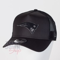 Casquette New England Patriots NFL tonal black AF 9FORTY Trucker New Era