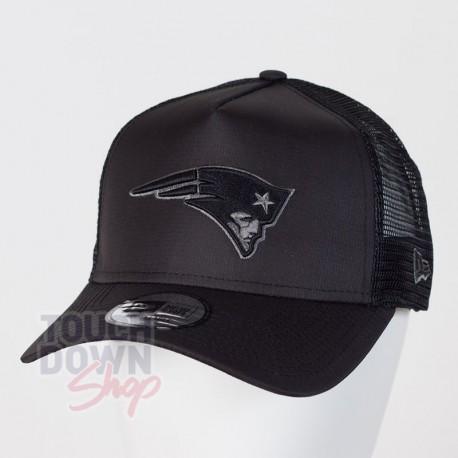 Casquette New England Patriots NFL tonal black AF 9FORTY Trucker New Era - Touchdown Shop