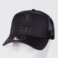 Casquette LA Los Angeles Dodgers MLB tonal black AF 9FORTY Trucker New Era