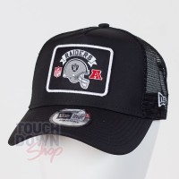 Casquette Oakland Raiders NFL wordmark 9FORTY Trucker New Era