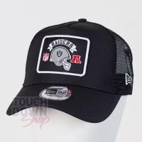 Casquette Oakland Raiders NFL wordmark 9FORTY Trucker New Era