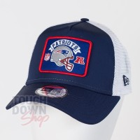 Casquette New England Patriots NFL wordmark 9FORTY Trucker New Era