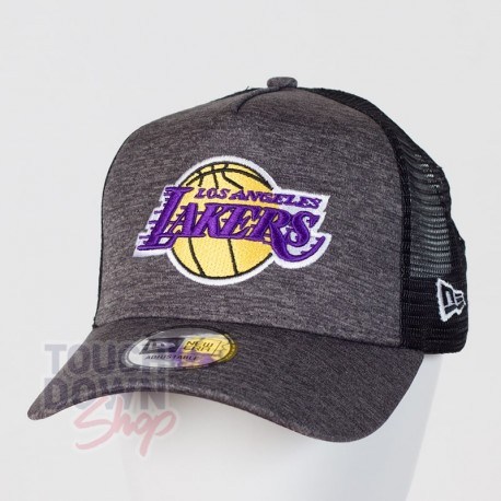 Casquette Los Angeles Lakers NBA shadow tech AF 9FORTY Trucker New Era - Touchdown Shop