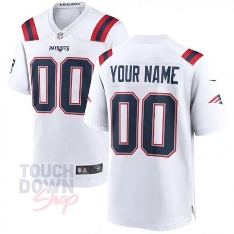 Maillot NFL New England Patriots extérieur Nike à personnaliser - Touchdown Shop