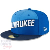 Casquette New Era 9FIFTY NBA Milwaukee Bucks Modèle City Edition