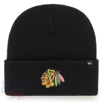 Bonnet '47 Haymaker NHL Blackhawks de Chicago Noir