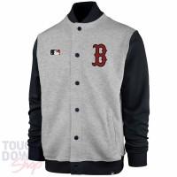 Veste Track Slate MLB Red Sox de Boston Grise '47 Brand