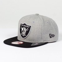 Casquette New Era 9FIFTY snapback Heather NFL Oakland Raiders - Touchdown shop