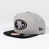 Casquette New Era 9FIFTY snapback Heather NFL San Francisco 49ers