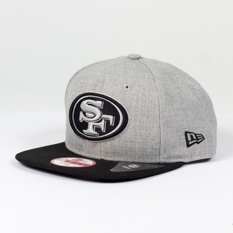 Casquette New Era 9FIFTY snapback Heather NFL San Francisco 49ers - Touchdown shop